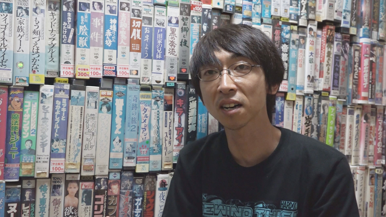 坪井篤史氏(『シネマ狂想曲~名古屋映画館革命~』より)