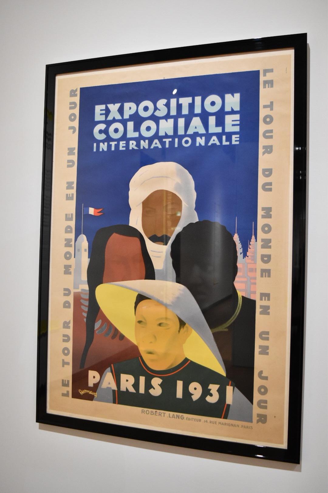《1931年パリ国際植民地博覧会》 ヴィクトル・デムール 1931年 ×○△ BA-TSU ART GALLERY蔵