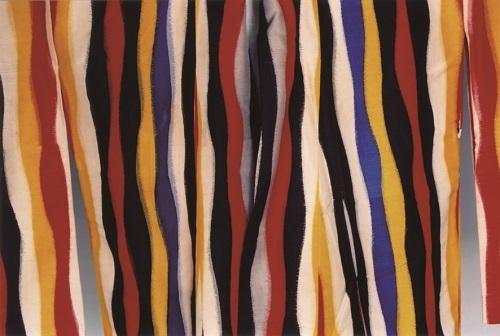 《絹の夢 #50 併用絣銘仙 桐生》2011年、発色現像方式印画、アーツ前橋蔵 (c)Ishiuchi Miyako