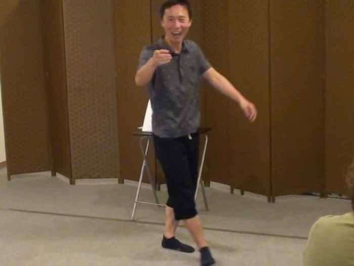 1o月に京都で行われた『黒川寄席 vol.10』。東京公演の予行演習として、上演予定の作品数本を披露した。