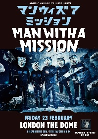 MAN WITH A MISSION、全英ツアーファイナルはロンドンでの単独公演