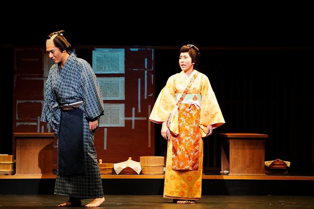 (左から)中村橋之助、多田愛佳