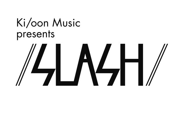 「Ki/oon Music presents / SLASH /」ロゴ