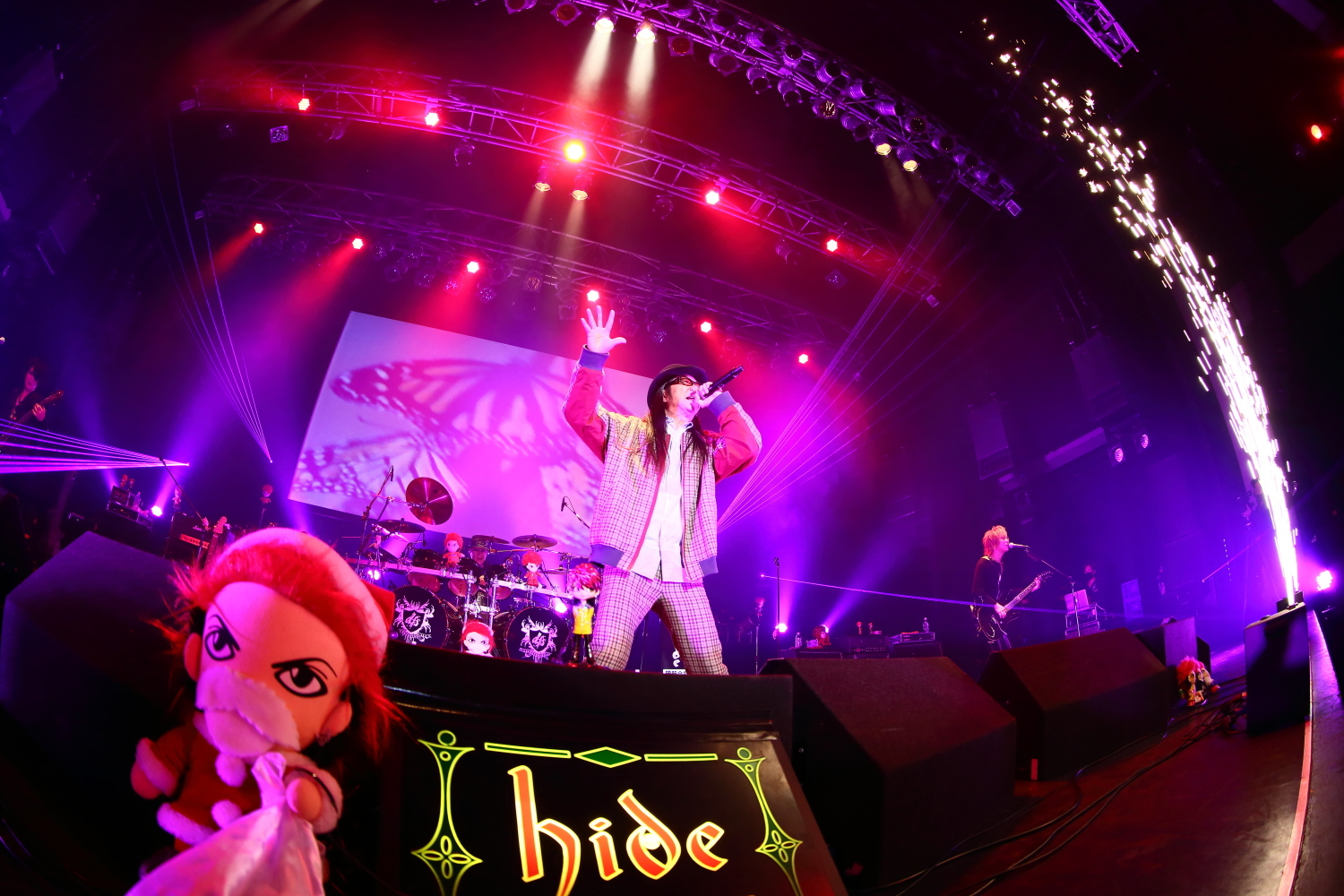 "『hide Birthday Party 2020 Sing along live""Hi-Ho!""』"