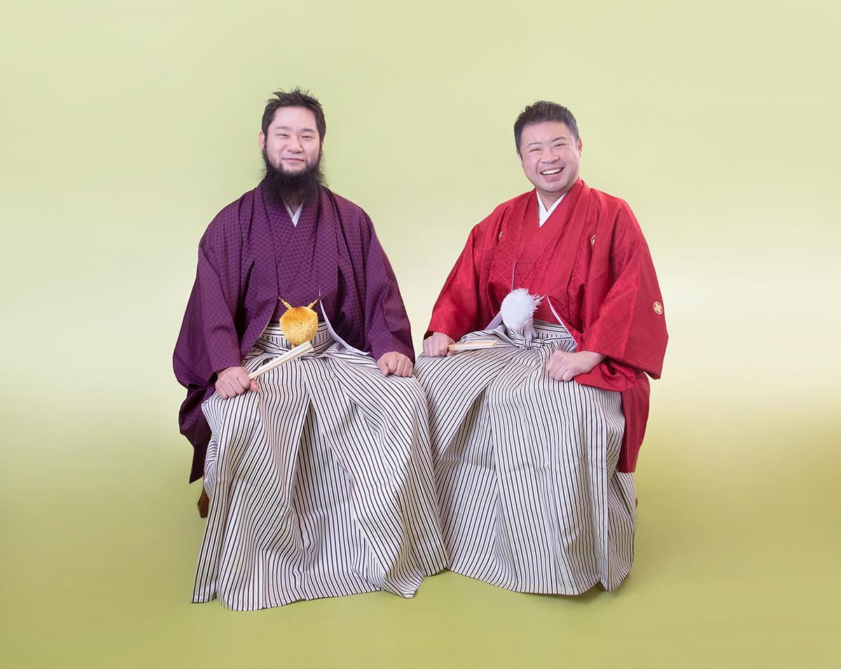 サイプレス上野とロベルト吉野 アーティスト写真
