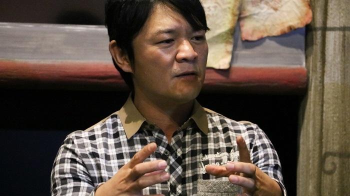 モンスターハンタークロスプロデューサー、辻本良三さん。