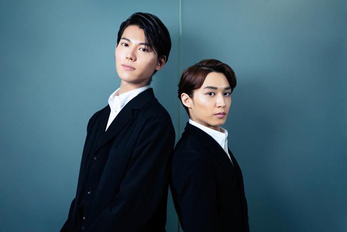 (左から)山崎大輝、松岡広大