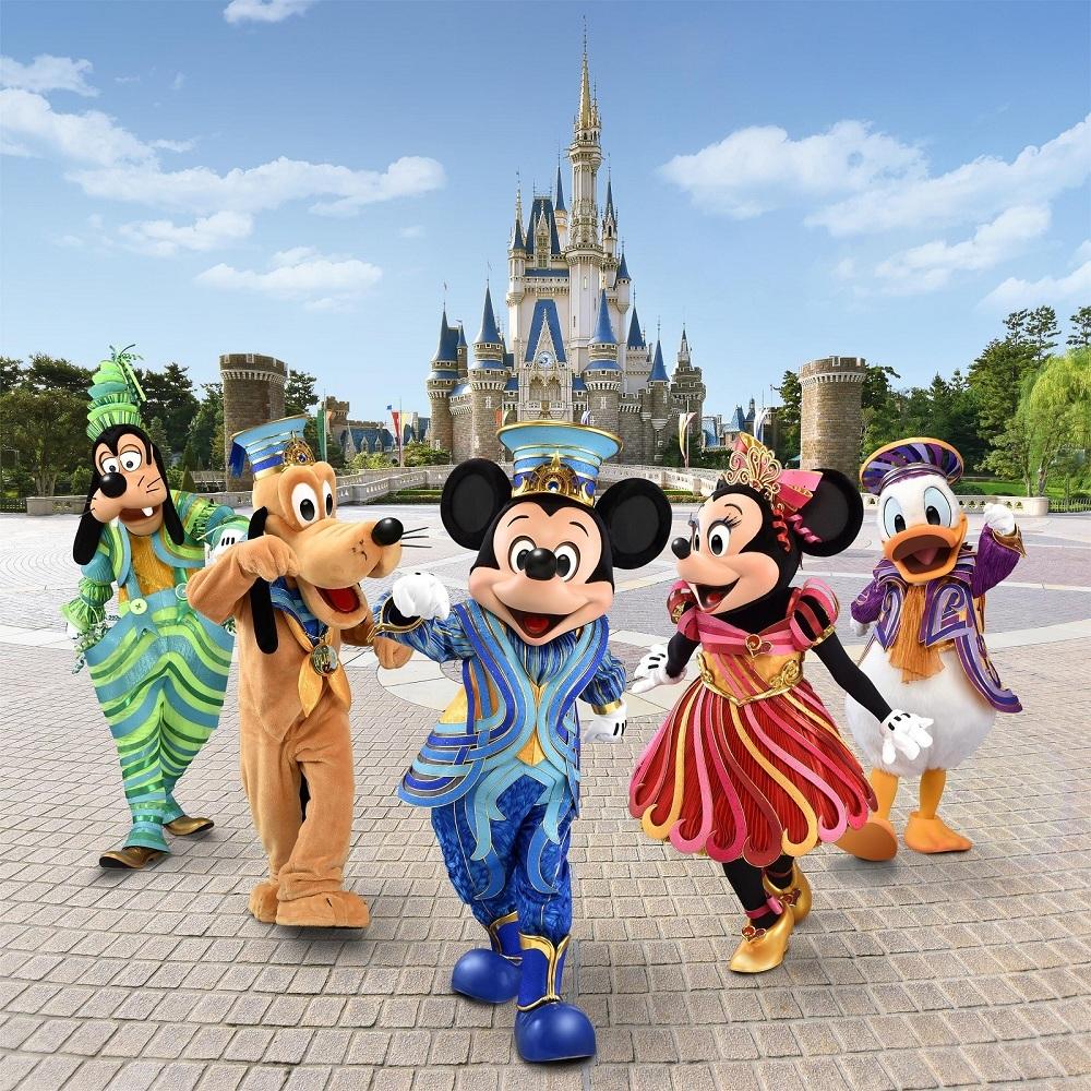 東京ディズニーリゾート35周年記念!ミッキーマウスと仲間たちが新