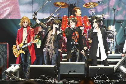 先輩後輩セッションにX JAPAN公開REC!狂乱の「LUNATIC FEST.」初日