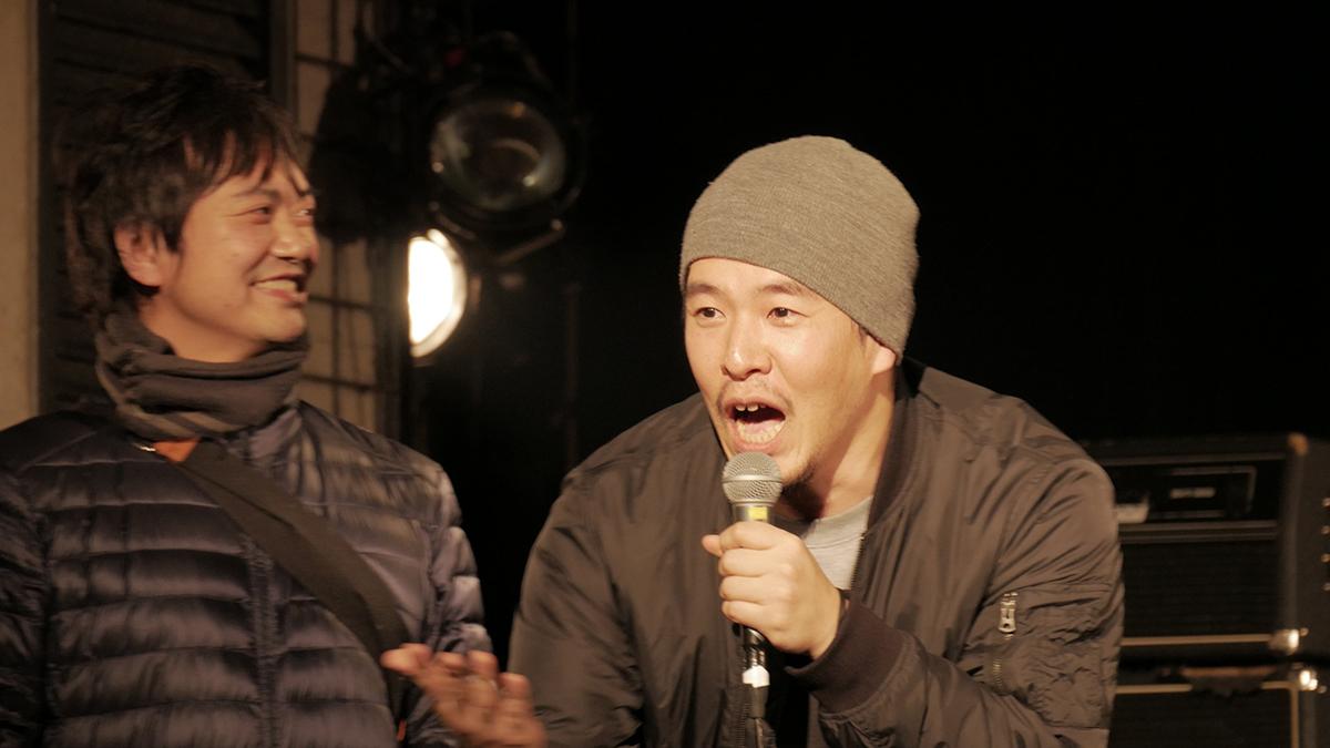 ジャン賢太郎(右) 撮影=シモムラリュウイチ