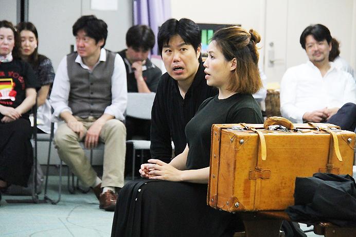 フィガロ役 大谷圭介とスザンナ役 松浦優は、26日のキャスト (C)H.isojima