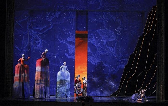『ナクソス島のアリアドネ』 ⒞Marty Sohl/Metropolitan Opera