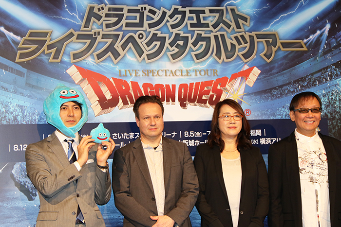 (左から)桝太一・レイ・ウィンクラー・金谷かほり・堀井雄二