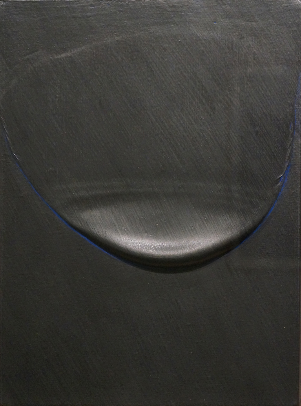 Takesada Matsutani《WAVE90-4》 Vinyl adhesive, graphite pencil, acrylic and japanease paper on canvas 1990  Courtesy of Yoshiaki Inoue Gallery