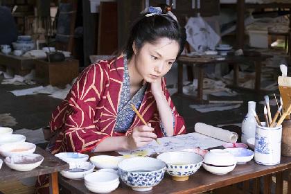 宮崎あおいが北斎の娘に NHKドラマ『眩~北斎の娘~』場面写真