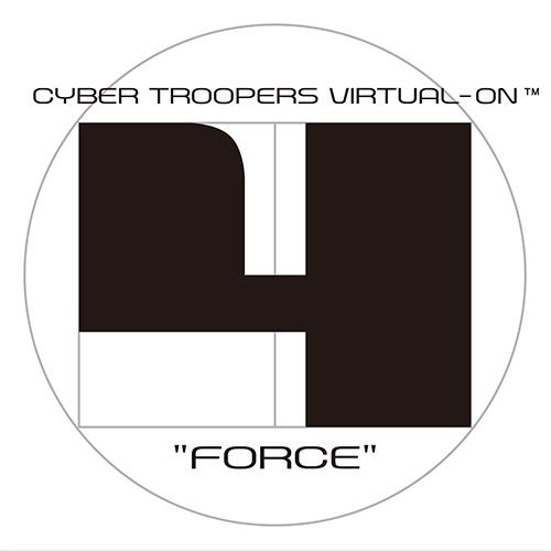『電脳戦機バーチャロン フォース』ロゴ