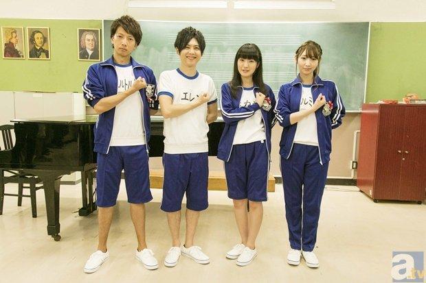 TVアニメ『進撃!巨人中学校』梶裕貴さんたちが体操着で宝探し!?