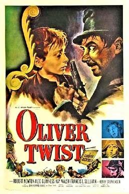「オリバー・ツイスト」(1948年)、イギリス初公開時のポスター