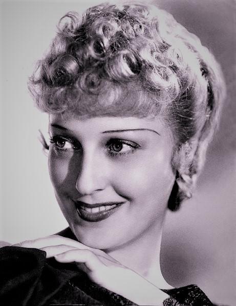 ジャネット・マクドナルド(1903~65年)。代表作は他に、「メリィ・ウィドウ」(1934年)や「桑港」(1936年)など。