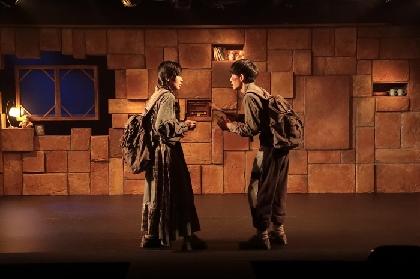 小沢道成と中村 中が仕掛ける二人芝居『オーレリアンの兄妹』開幕 舞台写真&小沢道成からコメント到着