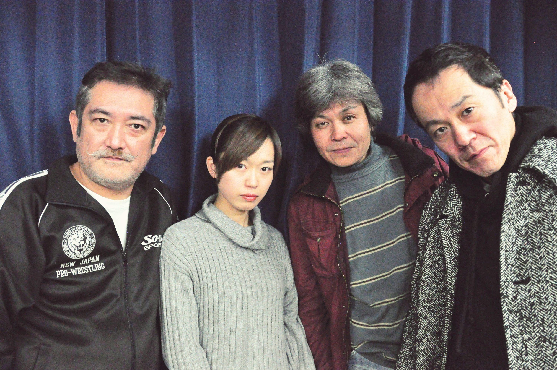 (左から)後藤ひろひと、丹下真寿美、久保田浩、坂田聡 [撮影]吉永美和子(このページすべて)