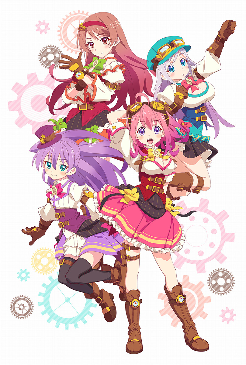 TVアニメ『ぱすてるメモリーズ』キービジュアル (C) FURYU/「ぱすてるメモリーズ」製作委員会