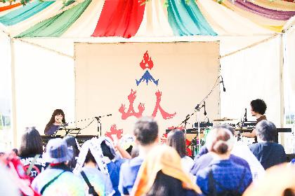 【山人音楽祭クイックレポ】小谷美紗子 ミニマムな編成で届けた強くしなやかな音と言葉