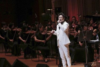 石丸幹二、オーケストラと共に名曲を歌い上げる『オーケストラコンサート2019 ~ミュージカル、29年の道のり~』がスタート