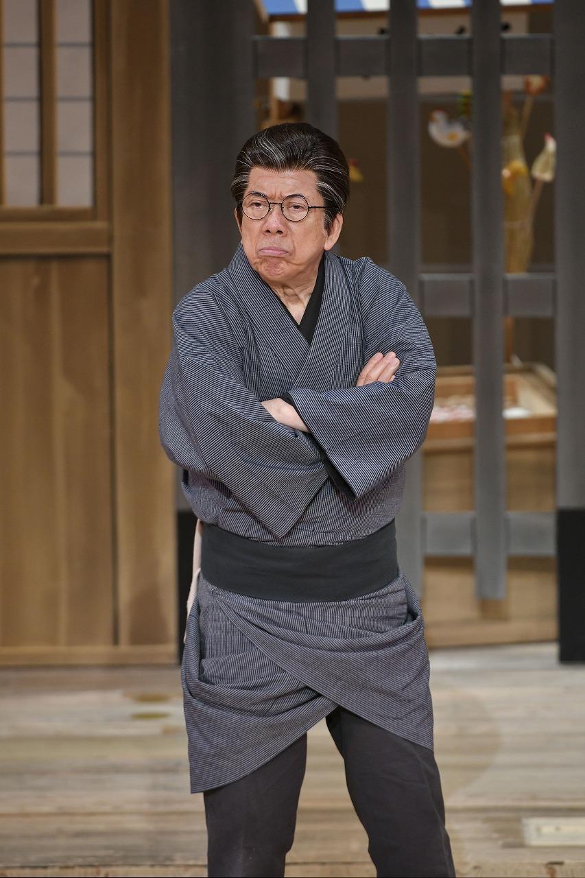 『おあきと春団治〜お姉ちゃんにまかしとき〜』舞台写真 西川きよし /(C)松竹