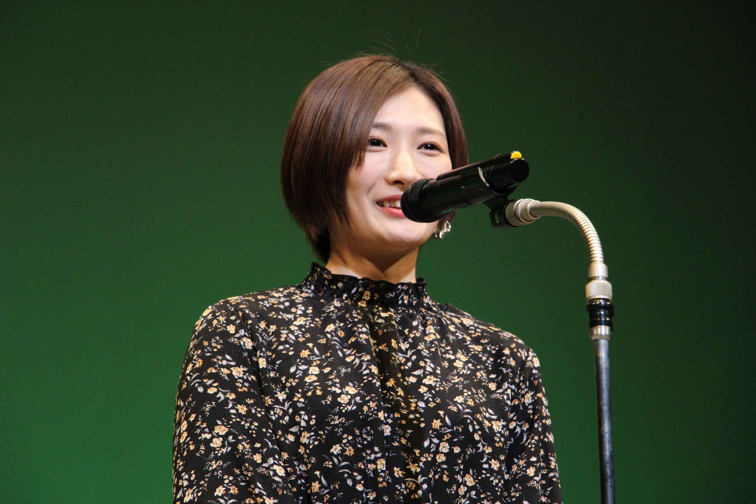 ベストアクション女優賞プレゼンター・武田梨奈(アクションアワード2013最優秀女優賞)