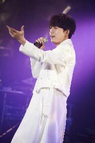 山崎育三郎、初のライブツアー・東京公演の模様をWOWOWで放送決定