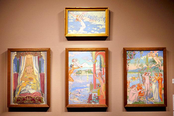 モーリス・ドニ《プシュケの物語》1907年│オルセー美術館