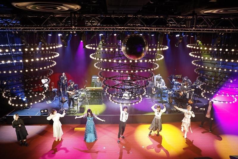 .なんてカラフルな世界!  高槻かなこ、鈴木みのり、大橋彩香、ReoNa、早見沙織、鷲崎健、オーイシマサヨシ (アニサマ2020-21テーマソング) (c)Animelo SUmmer Live 2021