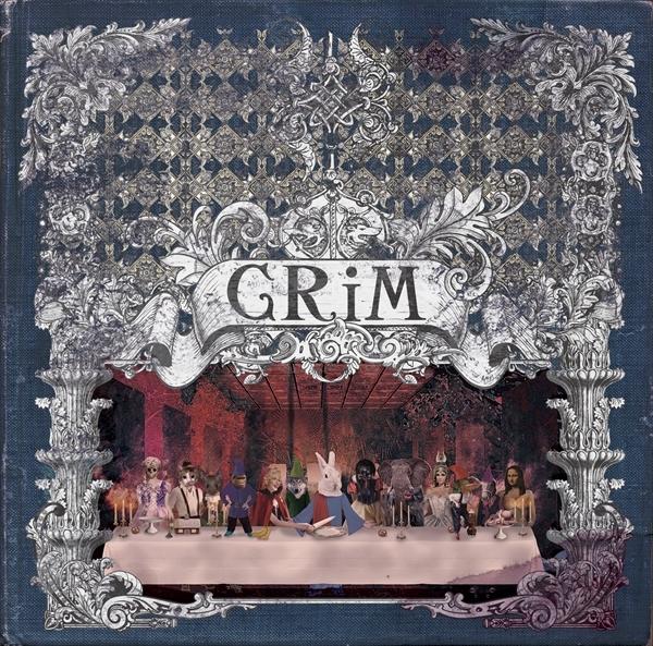 1ST FULL ALBUM『GRiM』[通常盤] CD + ライヴフォトブックレット仕様 / 3,000円 (税抜)