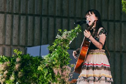 吉澤嘉代子 夢の舞台・日比谷野音ワンマンに見た、夢を叶えることの尊さと美しさ