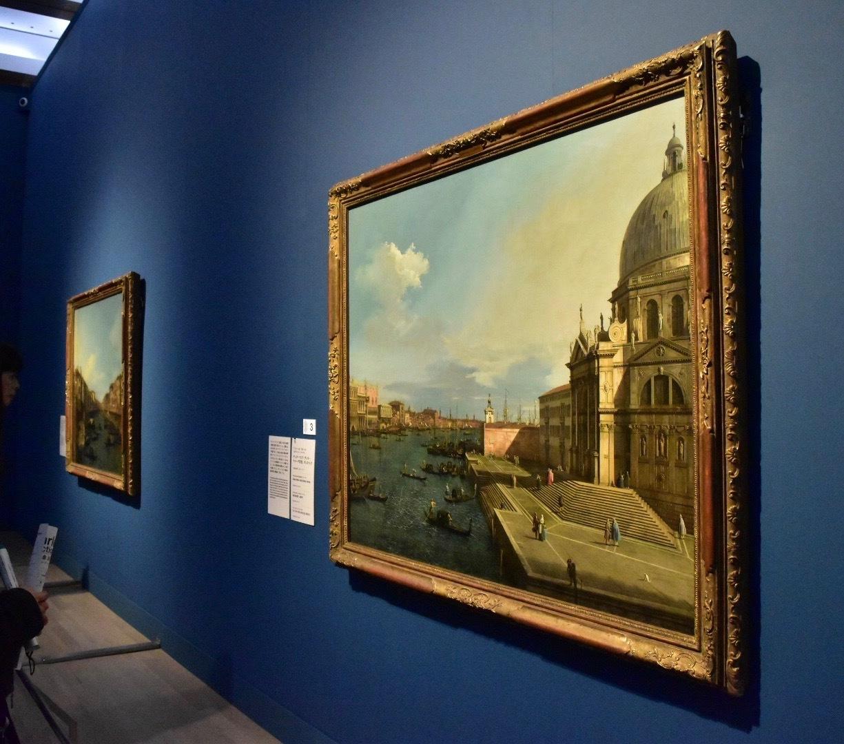 アントーニオ・カナール(カナレット) 《サンタ・マリア・デッラ・サルーテ聖堂、ヴェネツィア》 1738-42年頃