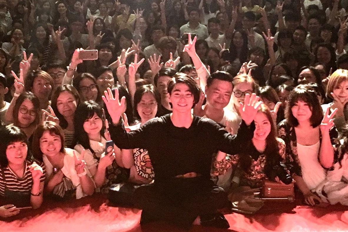 第20回上海国際映画祭での村上虹郎