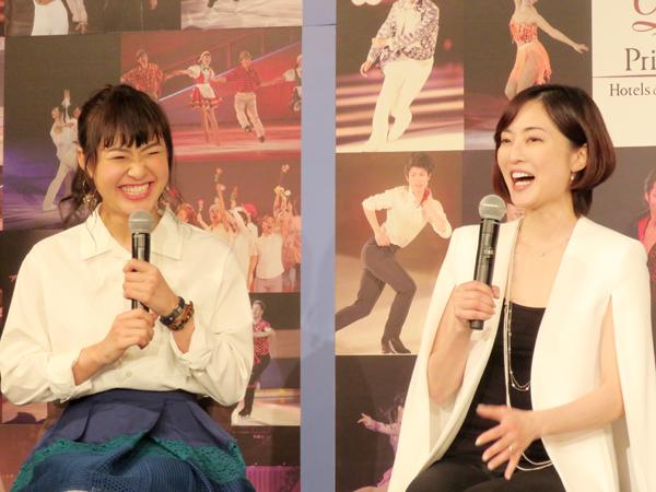 八木沼純子は村上佳菜子にプロスケーターとしての演技だけでなく、テレビ出演の仕事についてもアドバイス