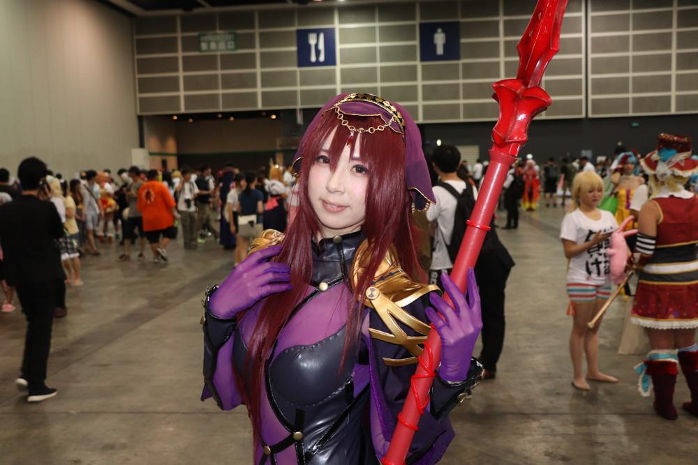 『Fate/Grand Order』のスカサハで参加しているのは日本の人気コスプレイヤー、さちぶどうさん