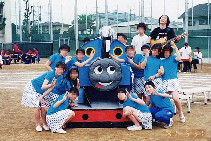 高木大地と稲益宏美が共に写る貴重写真(東京都立西高等学校時代)