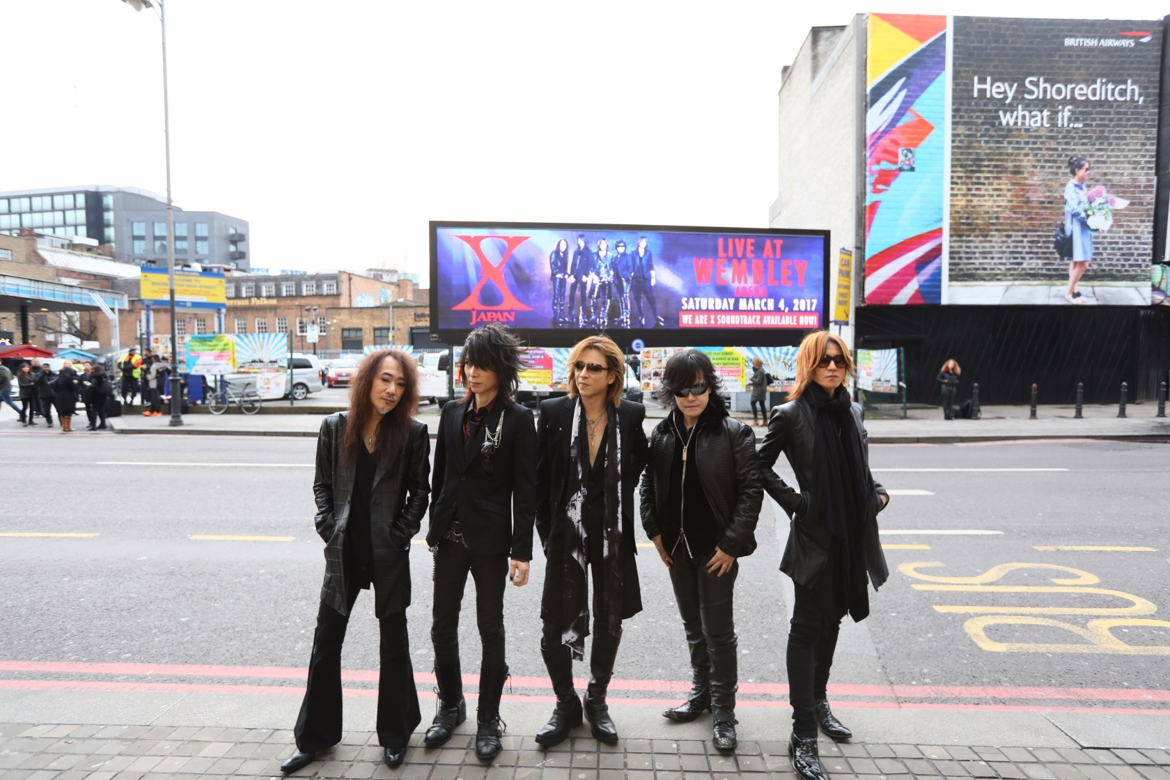 『X JAPAN LIVE 2017 at the WEMBLEY Arena in LONDON』