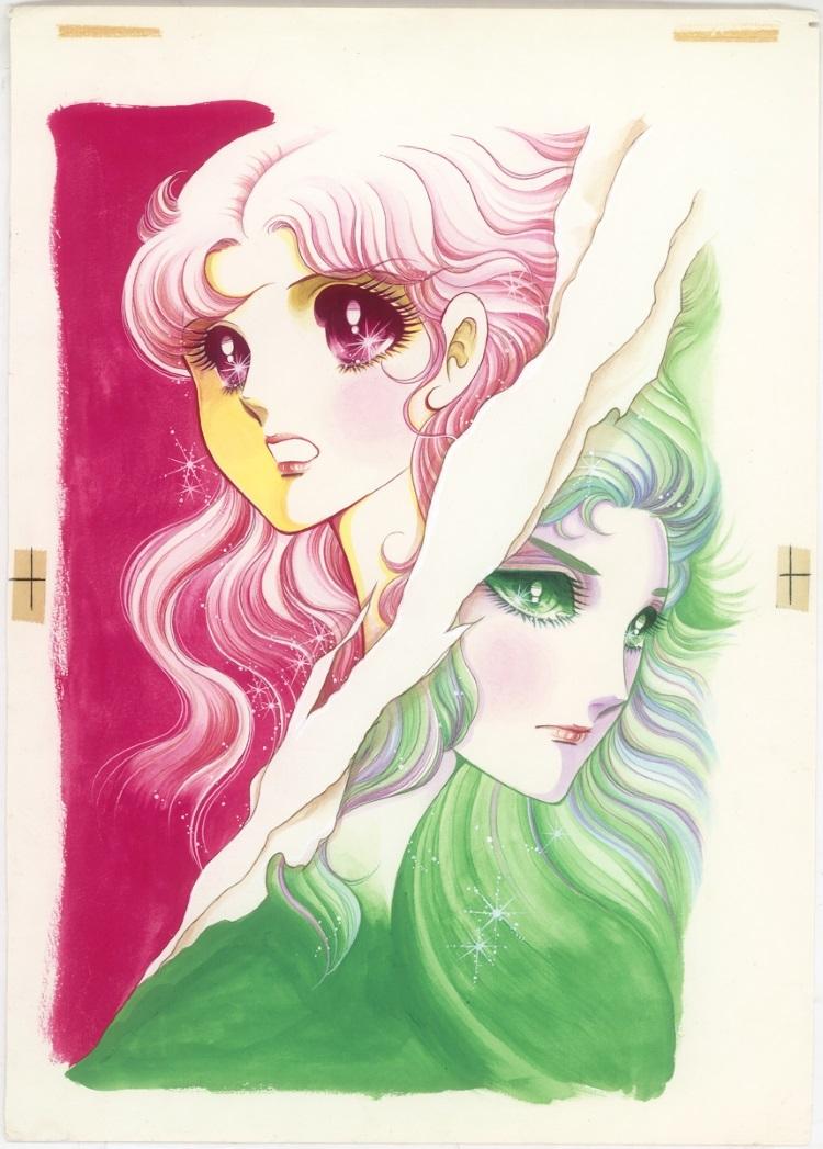 コミックス12巻の表紙原画(展覧会メインビジュアル) (C)Miuchi Suzue