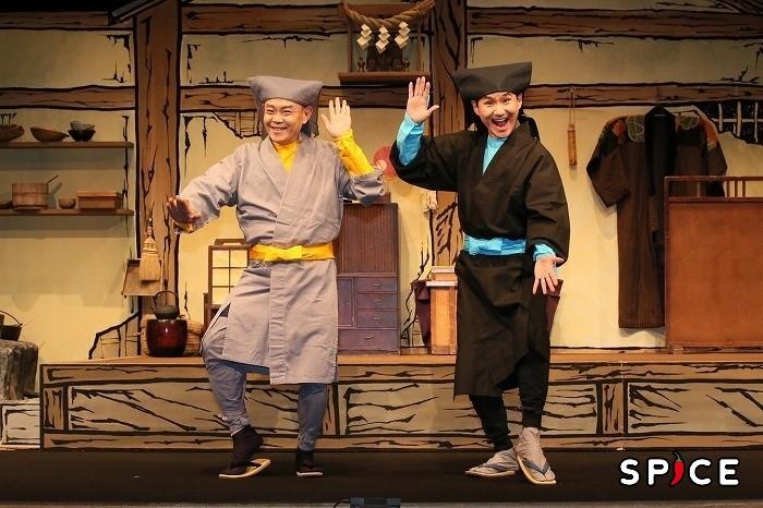 (左から)近藤芳正、南原清隆  撮影:宮川舞子
