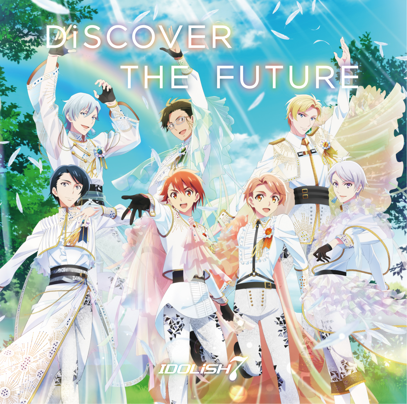 「DiSCOVER THE FUTURE」ジャケット写真