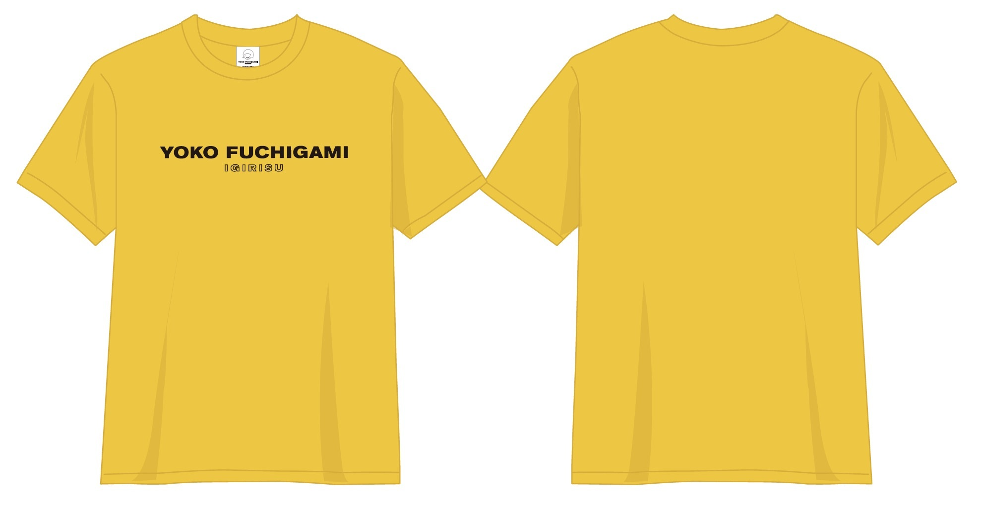 ★YOKO FUCHIGAMI STORE オリジナルTシャツ(M/L) 3,564円