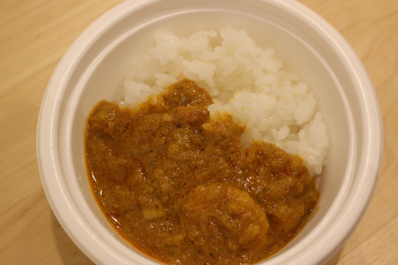南インド料理ナンタラ「薫る!海老のローストココナッツカレー」