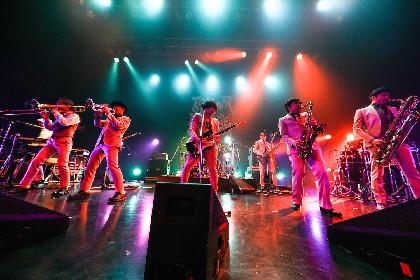 """東京スカパラダイスオーケストラ、超満員の新木場コーストを""""燃やし、揺らした""""ロングツアー開幕戦"""