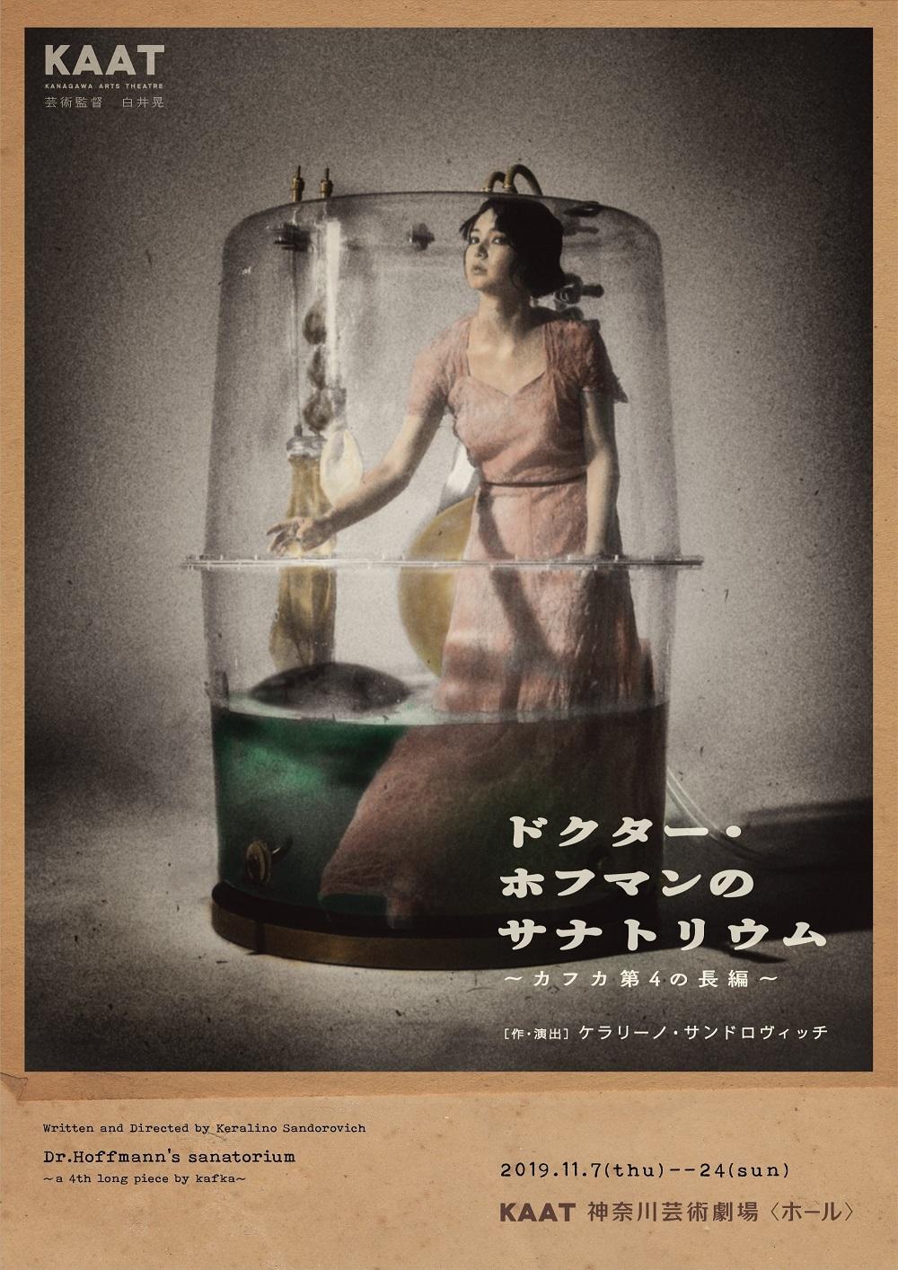 『ドクター・ホフマンのサナトリウム~カフカ第4の長編~』チラシ