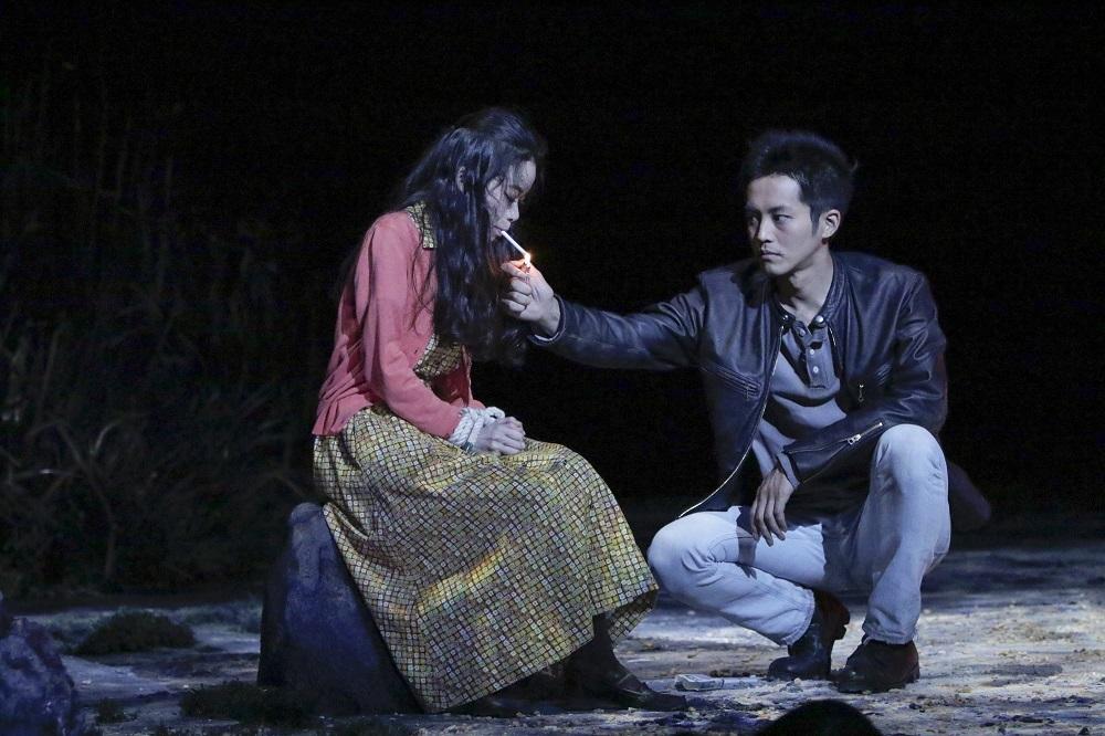 舞台『マクガワン・トリロジー』 撮影:岡千里