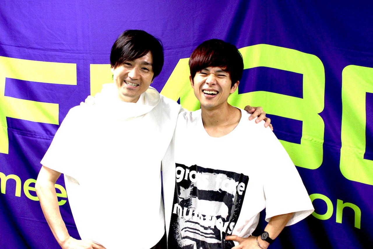 DJ落合健太郎(FM802)、ヤマサキ セイヤ(キュウソネコカミ)